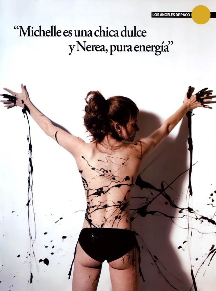 Marian Aguilera Desnuda Posado Artístico Revista Moda 2