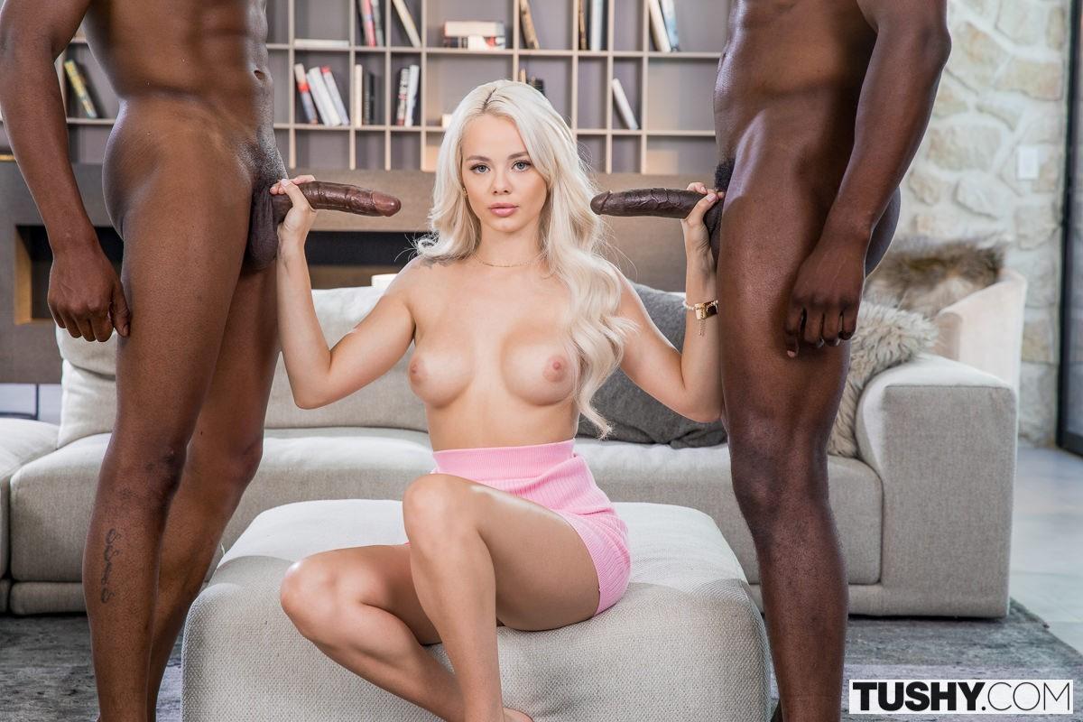 Elsa Jean Anal Interracial Tushy Influence 1