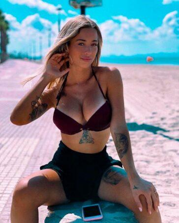 Mayka Rivera Posado Bikini Redes Sociales 4