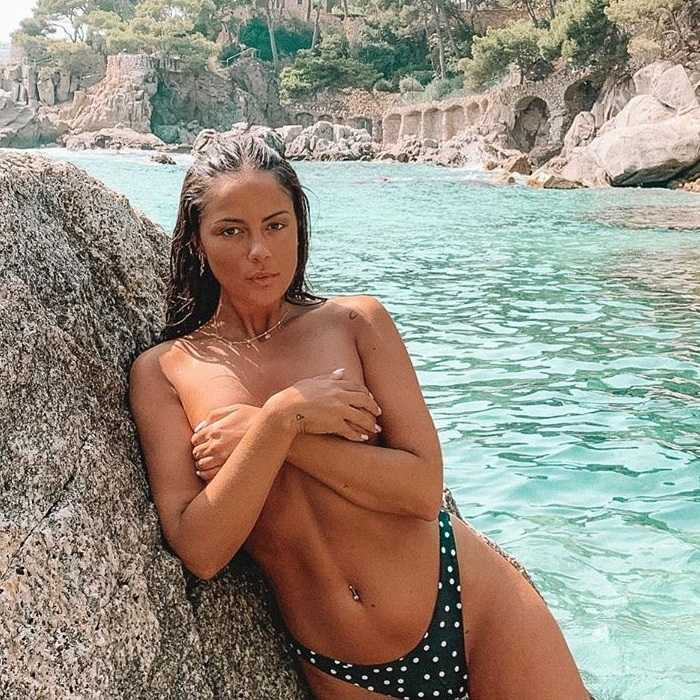Melyssa Pinto Fotos Instagram Topless Playa 4