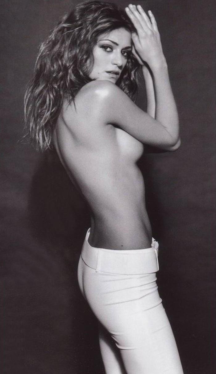 Olivia Molina Posado Erótico Revista Moda 2