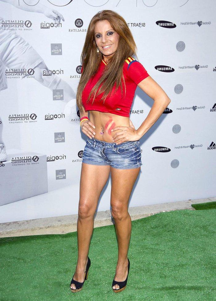 Sonia Monroey Pantalones Cortos Sexys Top Ajustado
