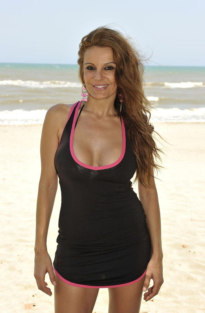 Sonia Monroy Bikini Concursante Reality Supervivientes 4