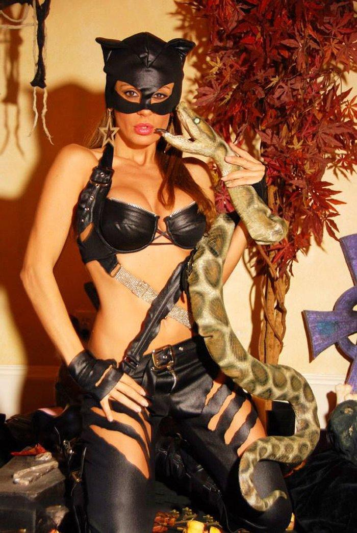 Sonia Monroy Disfrazada Catwoman