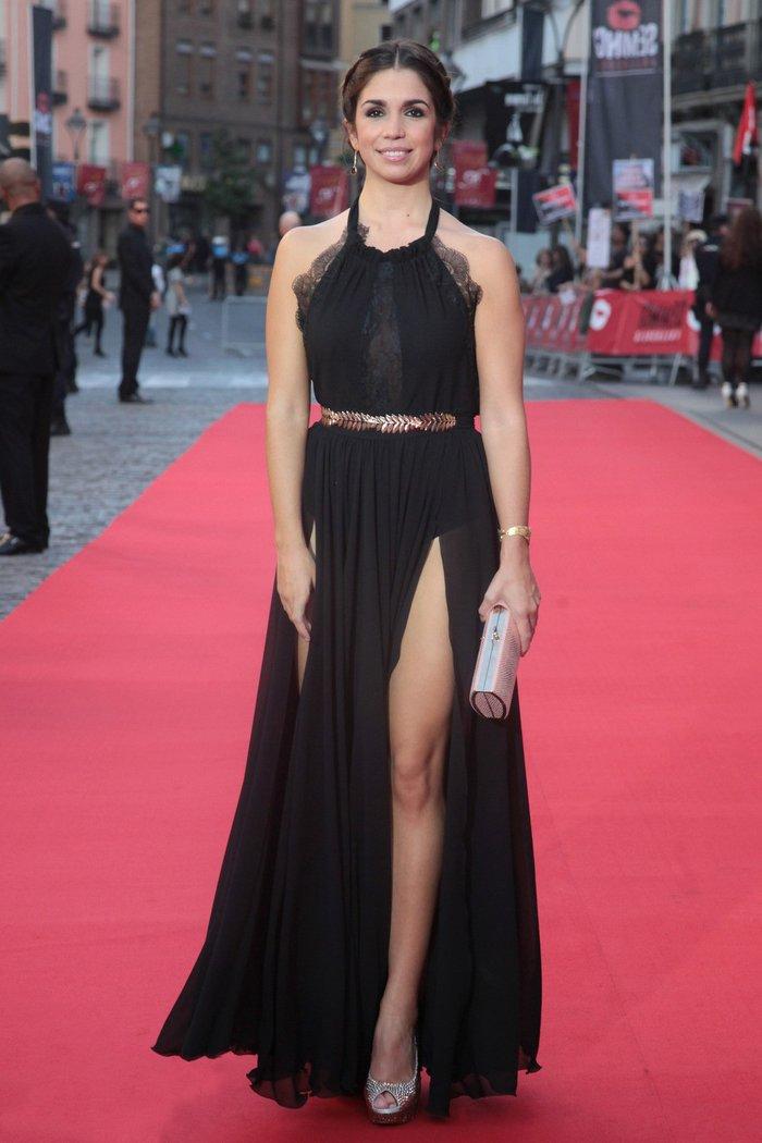 Elena Furiase Actriz Madrileña Vestido Provocativo