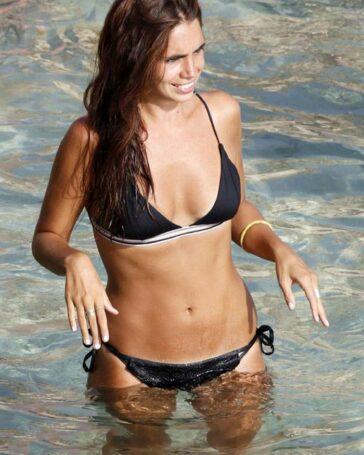 Elena Furiase Bañador Sexy Vacaciones Ibiza