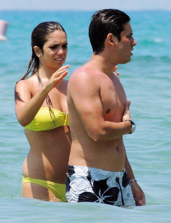 Elena Furiase Bañador Sexy Vacaciones Ibiza 8