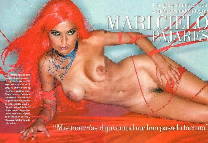 Mari Cielo Pajares Desnuda Revista Interviu 10