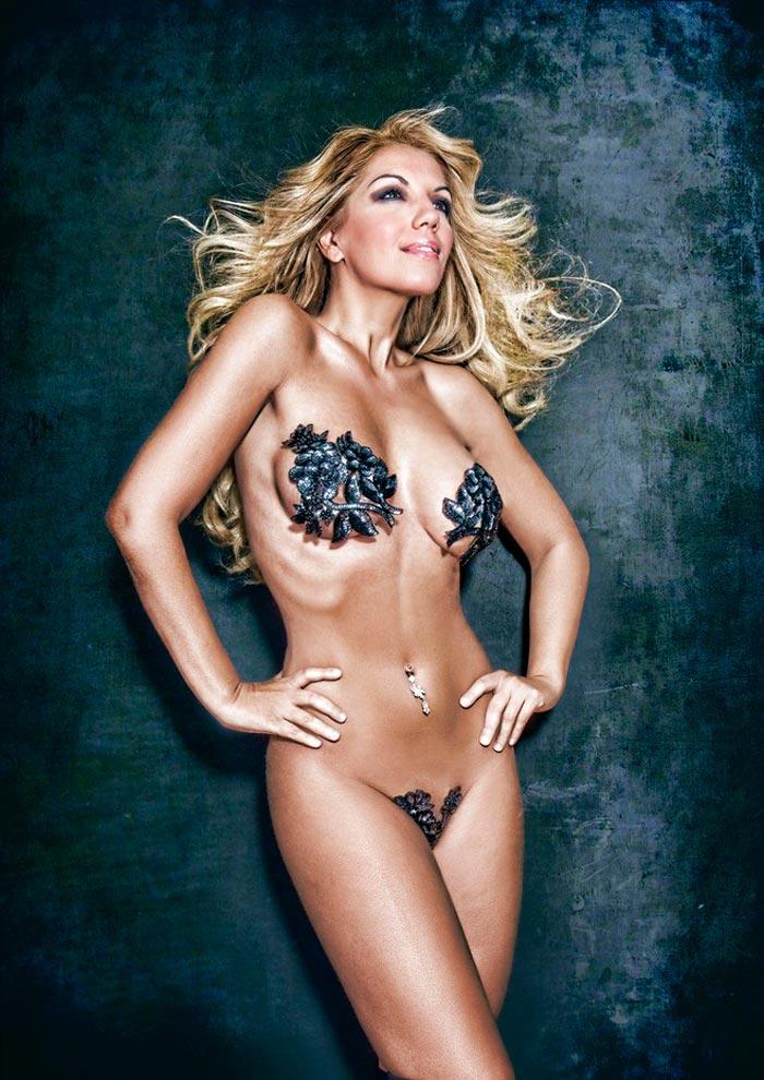 Rebeca Pous Desnuda Revista Primera Línea 3