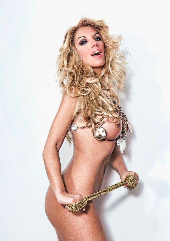 Rebeca Pous Desnuda Revista Primera Línea 7
