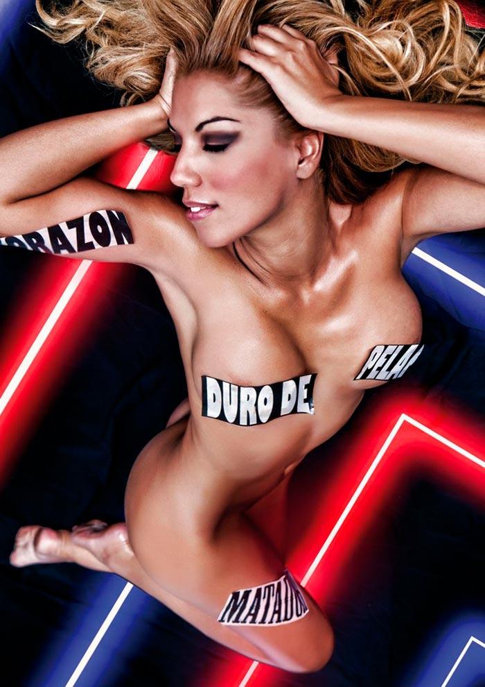 Rebeca Pous Sin Ropa Posado Revistas Eróticas 2