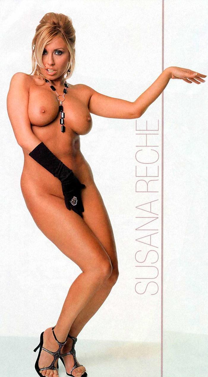 Susana Reche Desnuda Pechos Interviu Revista Española 2