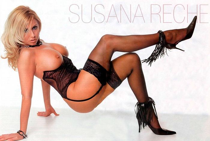 Susana Reche Desnuda Pechos Interviu Revista Española