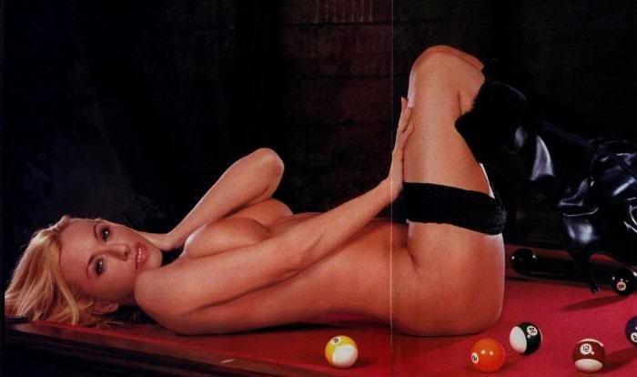Susana Reche Vedette Erótica Posado Revista Man