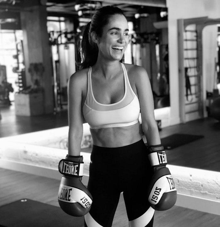 Alicia Sanz Boxeadora Sexy