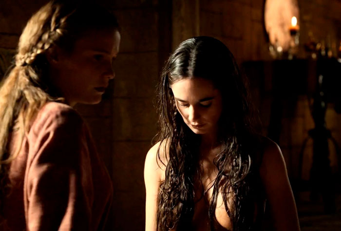 Alicia Sanz Desnuda Serie El Cid
