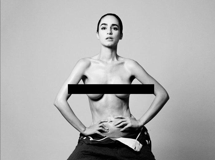 Alicia Sanz Tetas Al Aire Topless Censura
