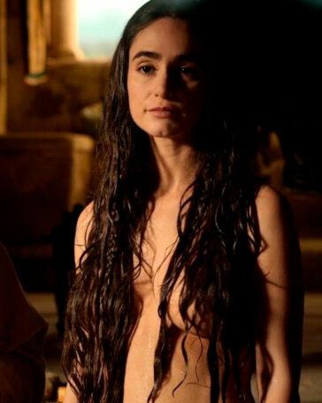 Alicia Sanz Topless Serie El Cid