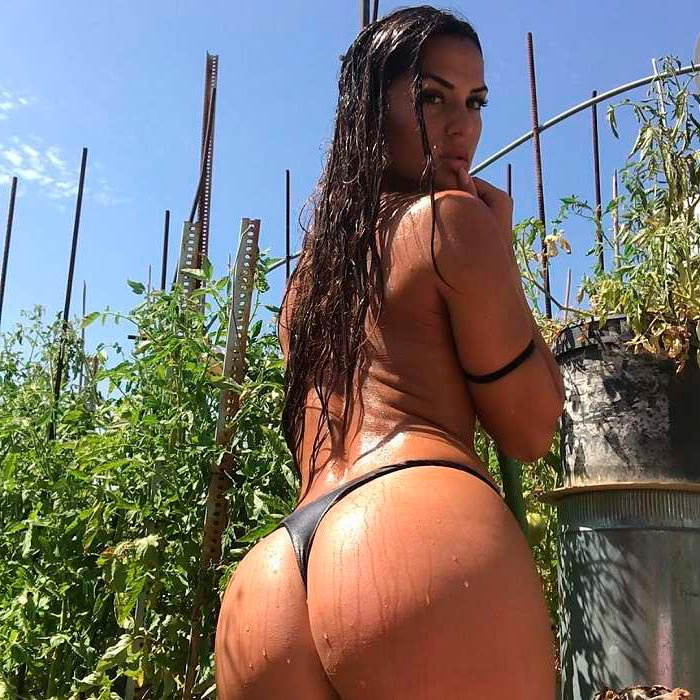 Cristina Gilabert Posado Culo Grande 4