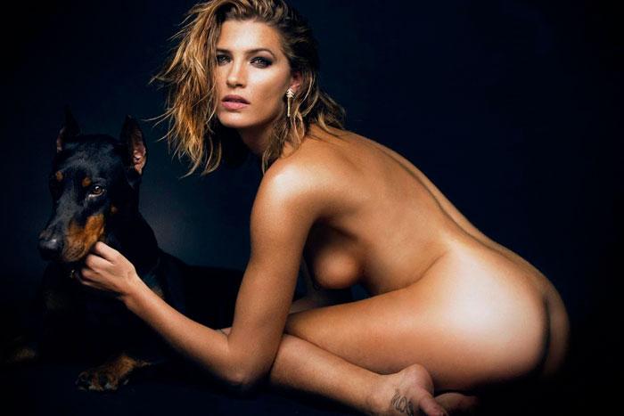 Laura Sánchez Desnuda Posado Revista Madmenmag 2