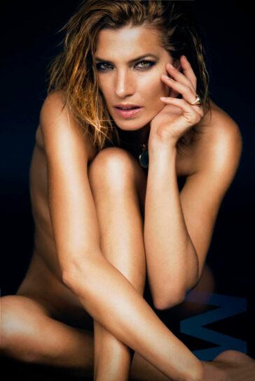 Laura Sánchez Desnuda Posado Revista Madmenmag 3