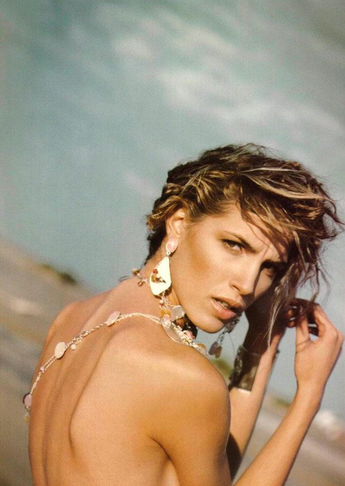 Laura Sánchez Topless Sesión Fotográfica Publicidad