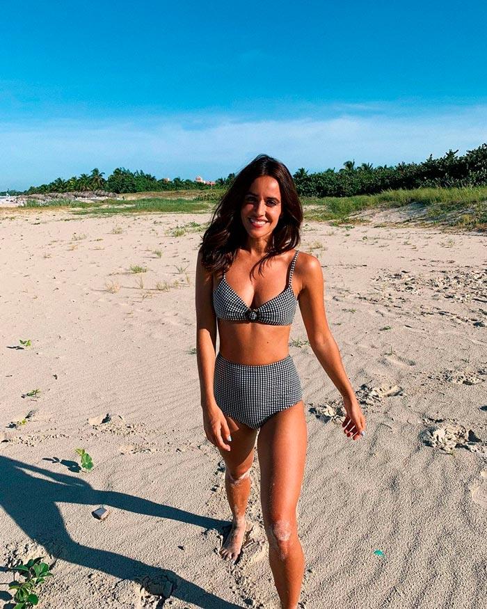 Macarena García Bikini Sexy Playa