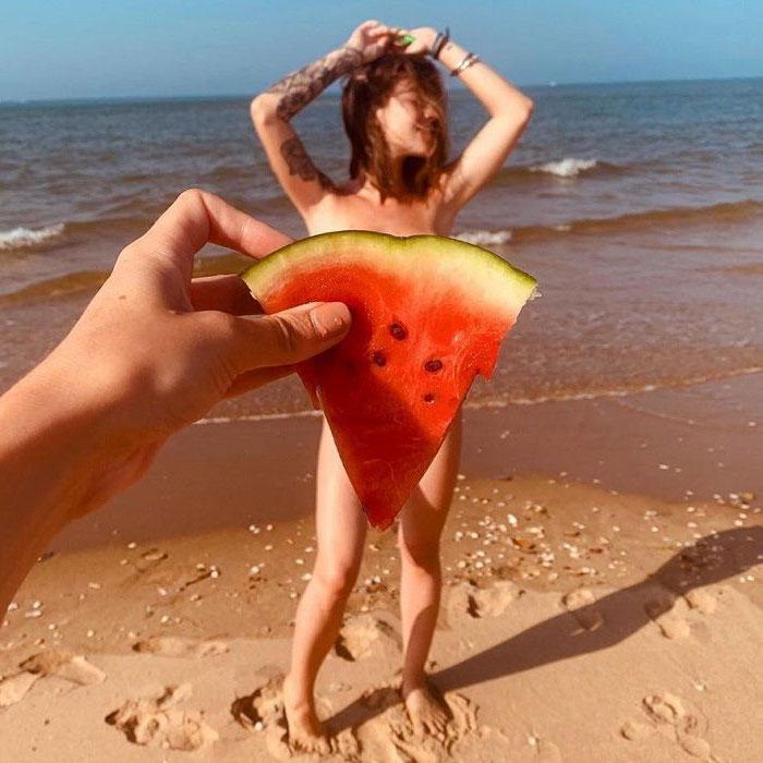 María Isabel Desnuda Playa Censura