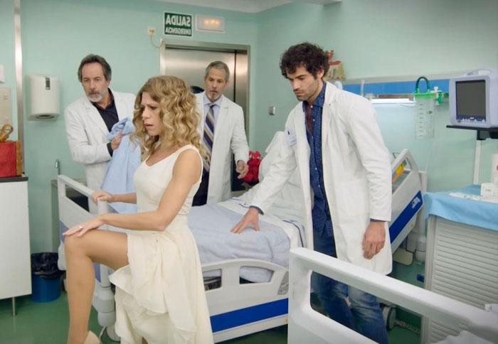 Rebeca Valls Sexy Serie Centro Médico Tve