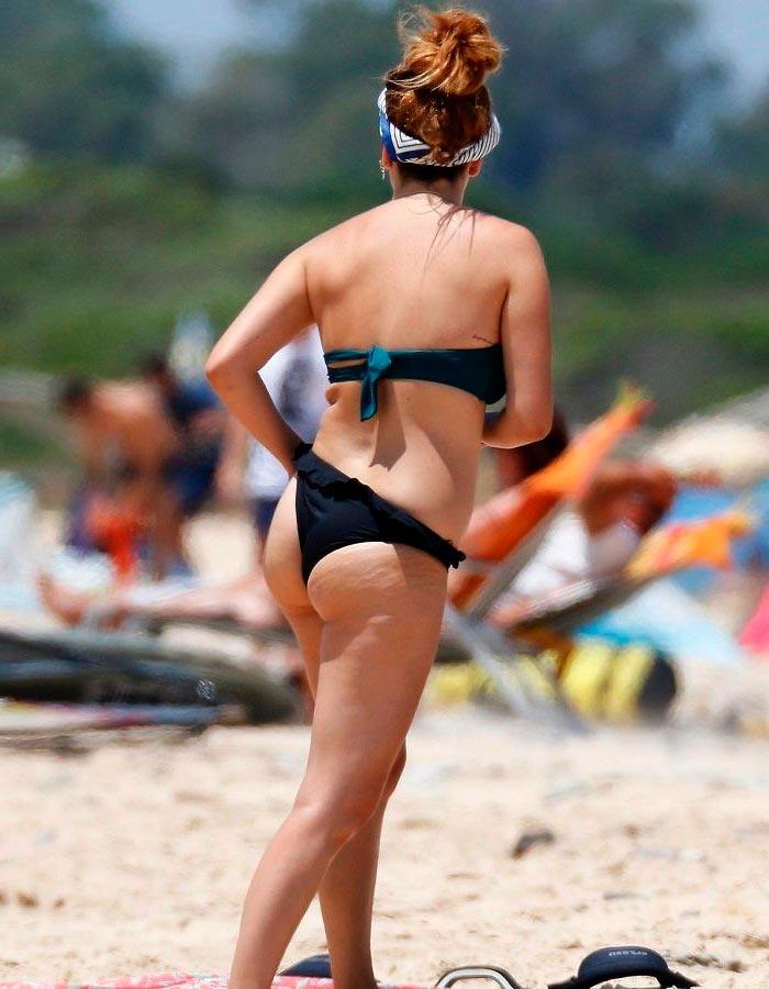 Blanca Suárez Bikini Playa Vacaciones Verano 2
