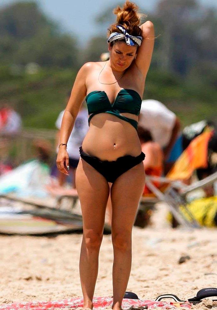 Blanca Suárez Bikini Playa Vacaciones Verano 3
