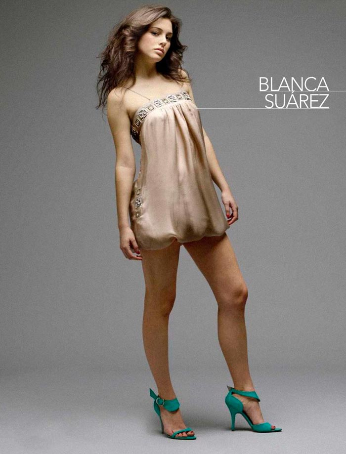 Blanca Suárez Conjunto Lencería Fina Sexy 5