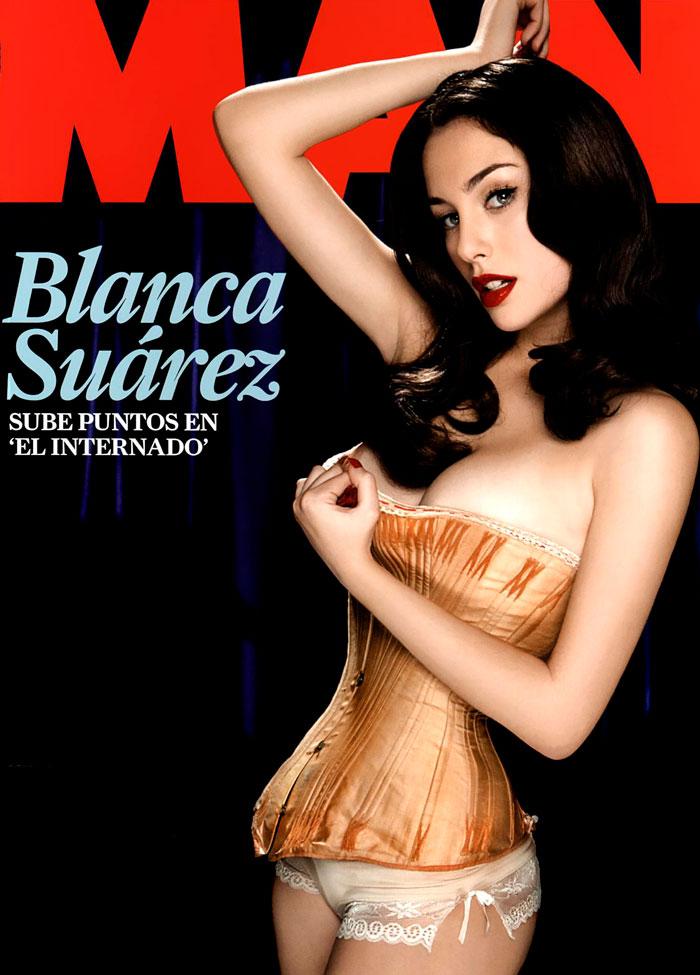 Blanca Suárez Desnuda Revista Man