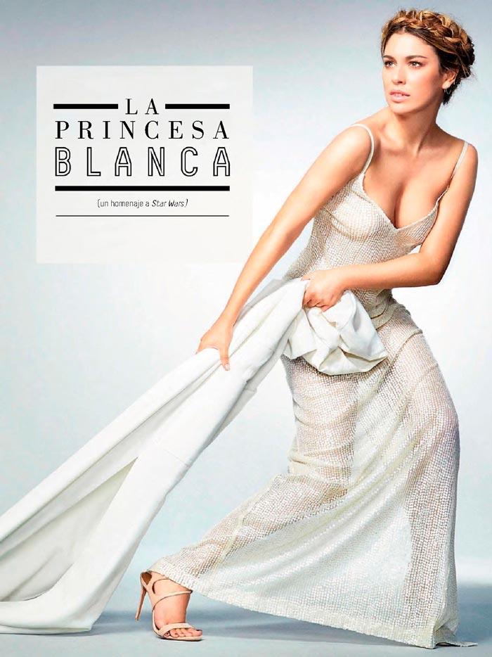 Blanca Suárez Escote Pechos Revista Gq 3