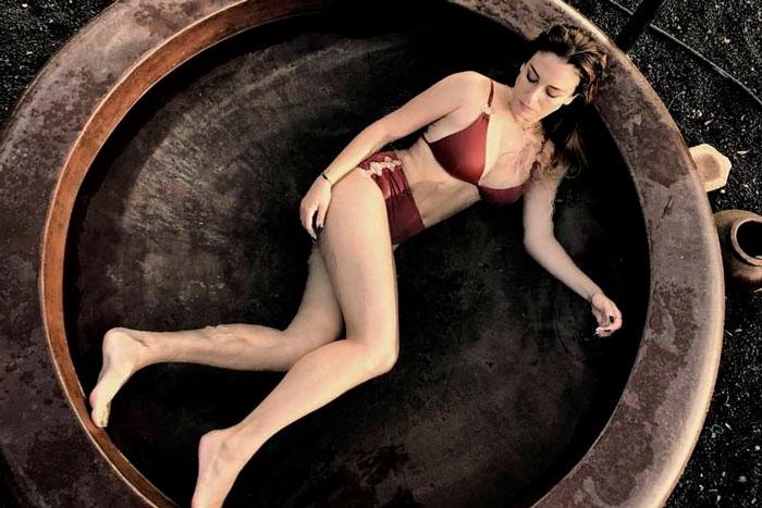 Blanca Suárez Fotos Bikinis Posados Moda 15