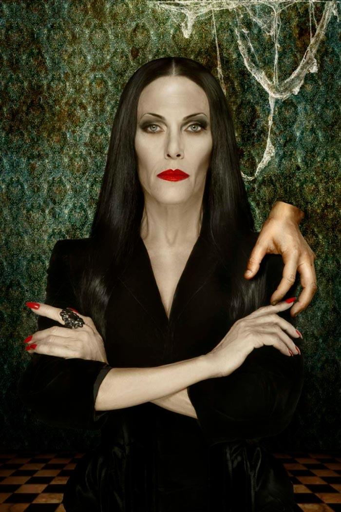 Carmen Conesa Morticia Addams Musical