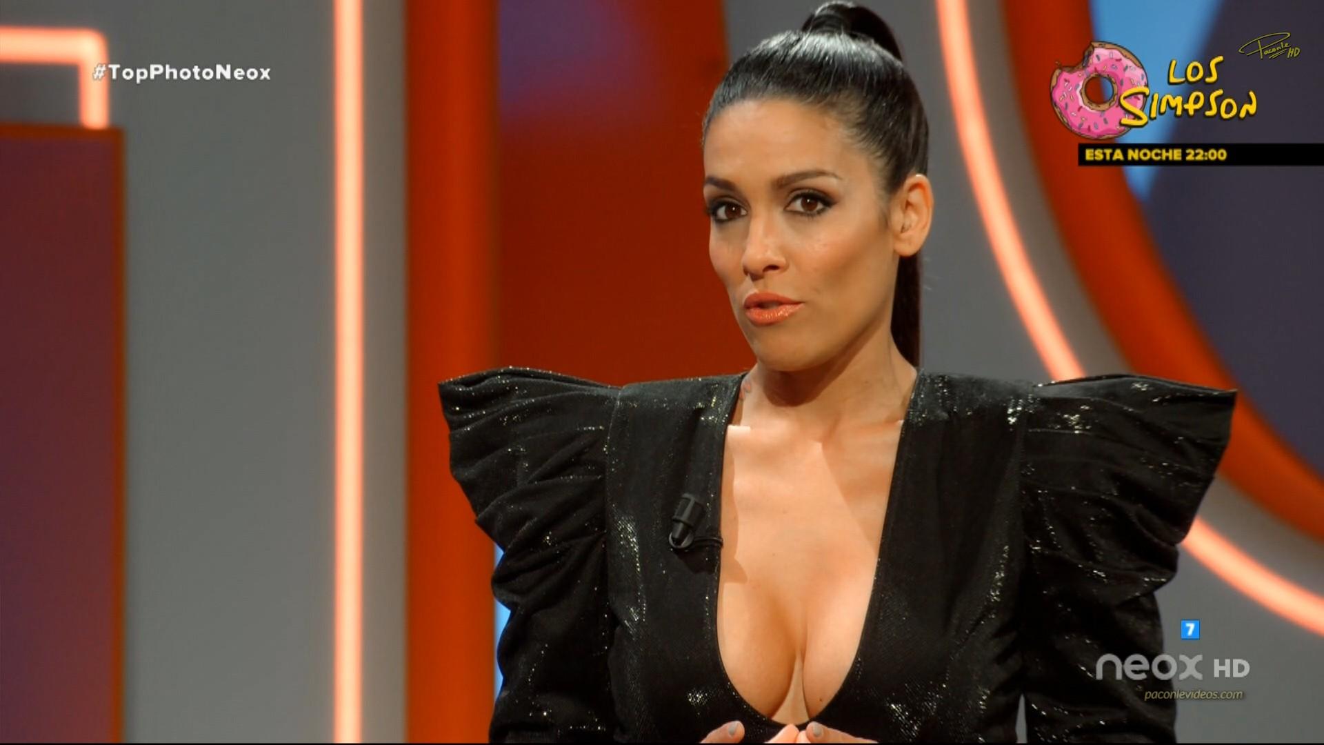 Lorena Castell Pechos Operados Presentadora Show Televisivo
