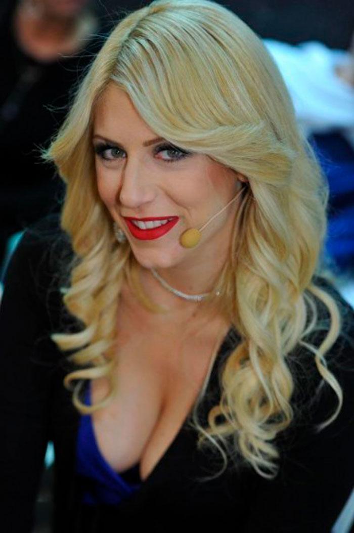 Paola Caruso Modelo Italiana Concursante Supervivientes