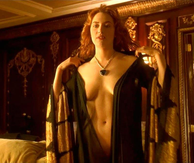 Kate Winslet Desnuda Película Titanic