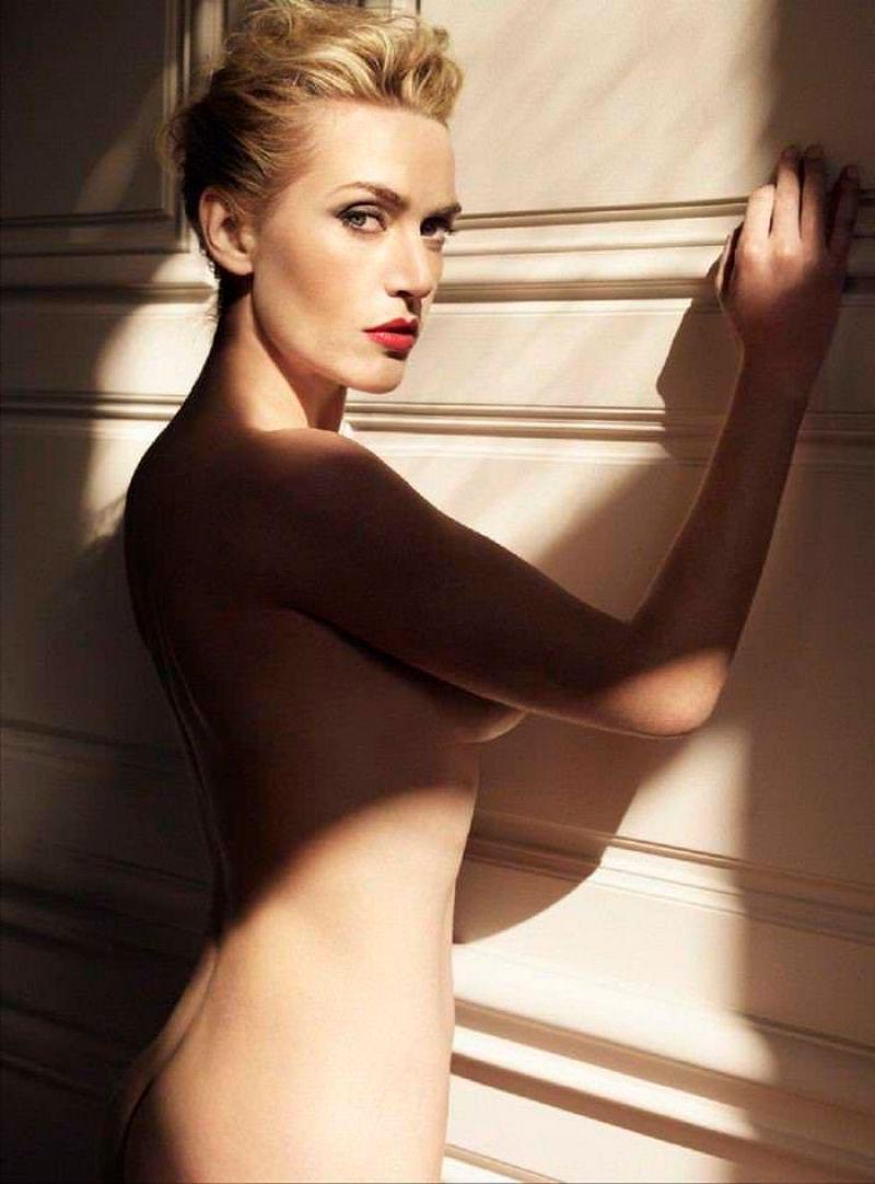 Kate Winslet Desnuda Posado Erótico Revista Moda