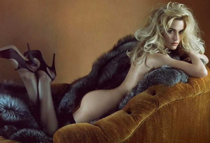 Kate Winslet Desnuda Sesión Erótica Posado Artístico 2
