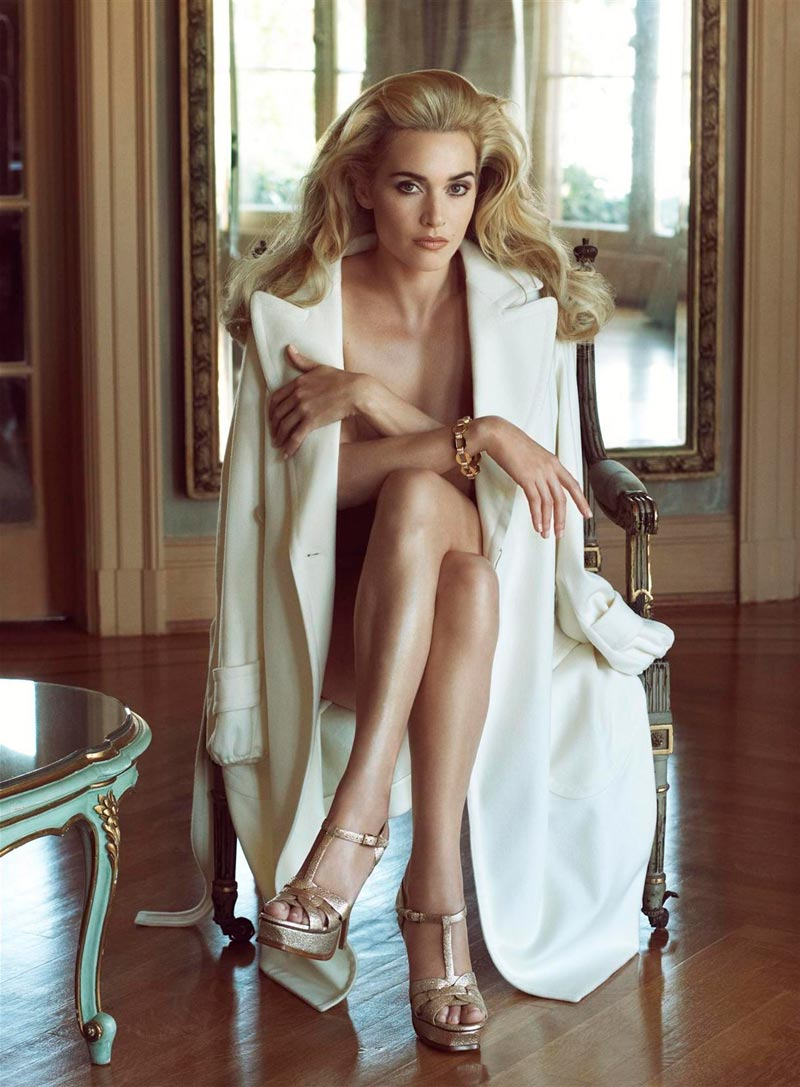 Kate Winslet Desnuda Sesión Erótica Posado Artístico 4