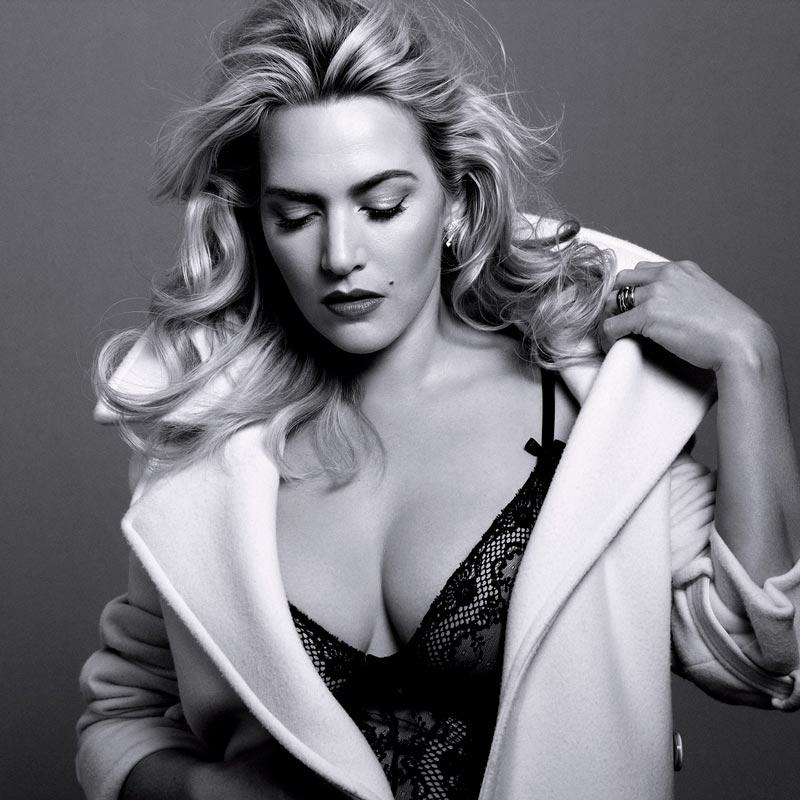 Kate Winslet Espectaculares Tetas Lencería
