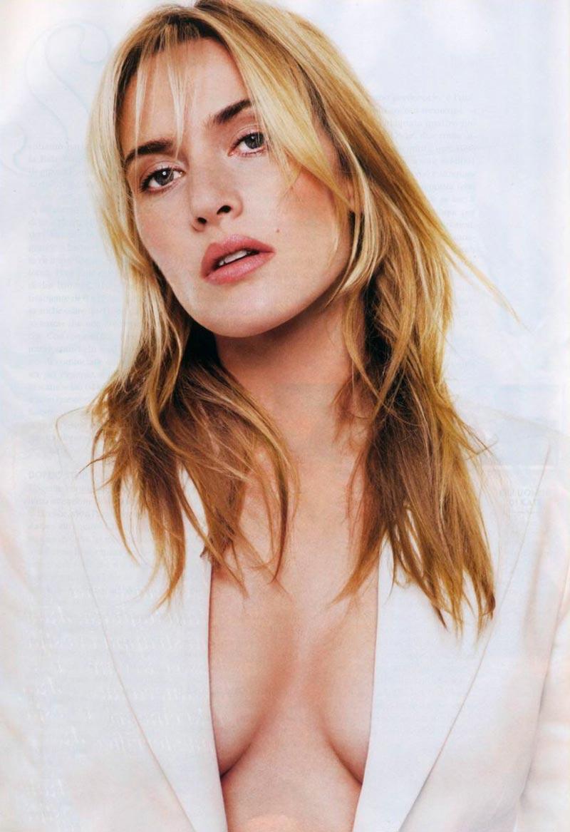 Kate Winslet Foto Pechos Escote Sensual
