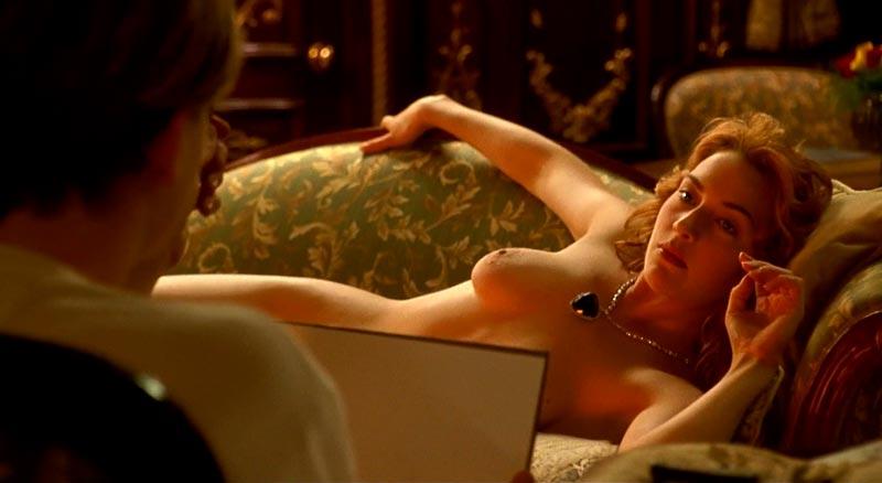 Kate Winslet Posado Desnudo Titanic Leonardo Di Caprio