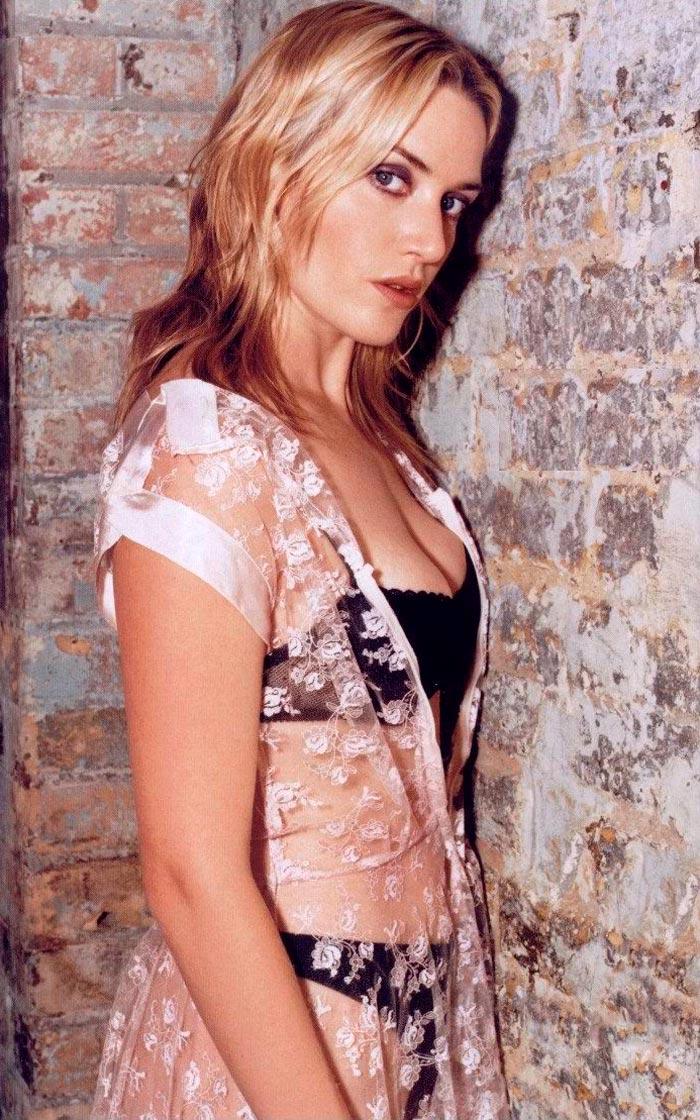Kate Winslet Posado Erótico Lencería 2 4