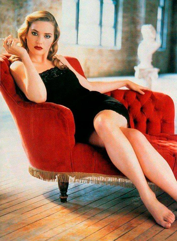 Kate Winslet Posado Erótico Lencería 2