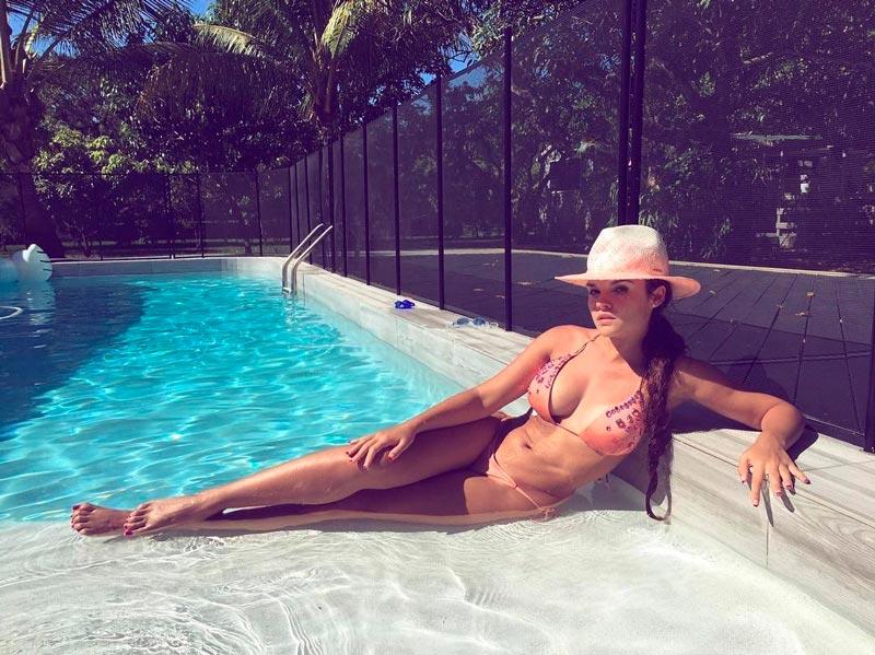 Melody Ruiz Fotos Sexys Instagram Bikini 4