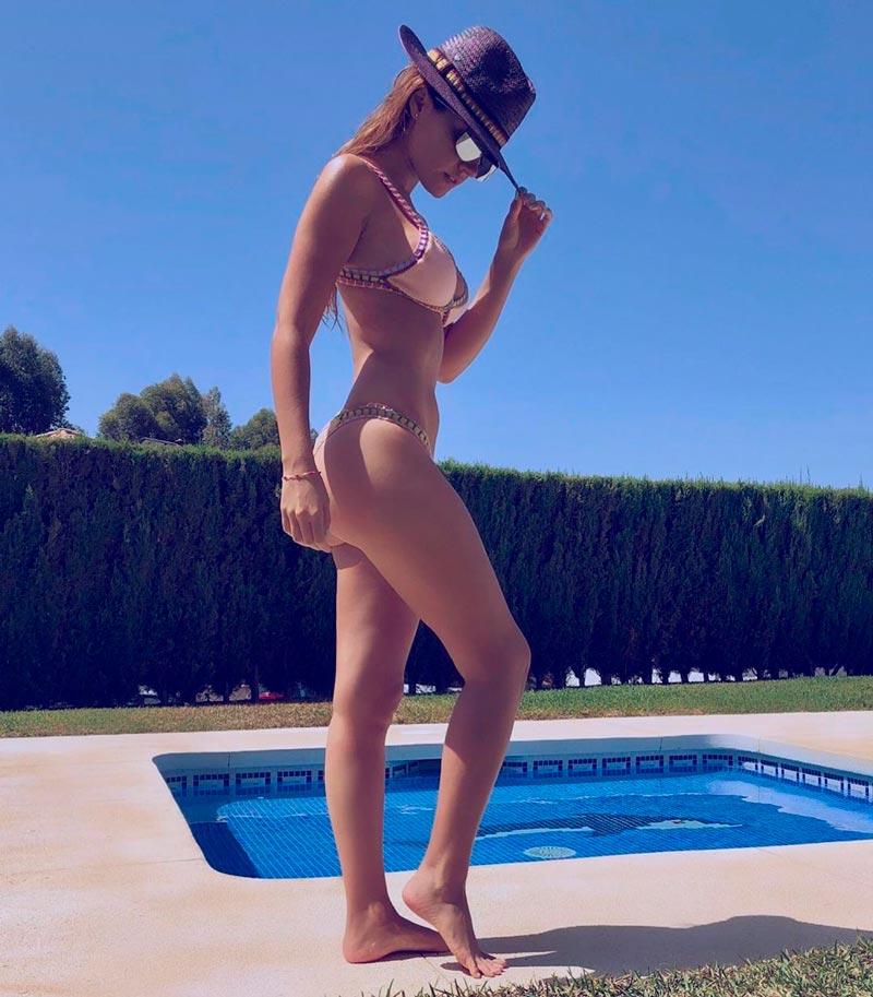 Melody Ruíz Semidesnuda Bikini Cuerpazo