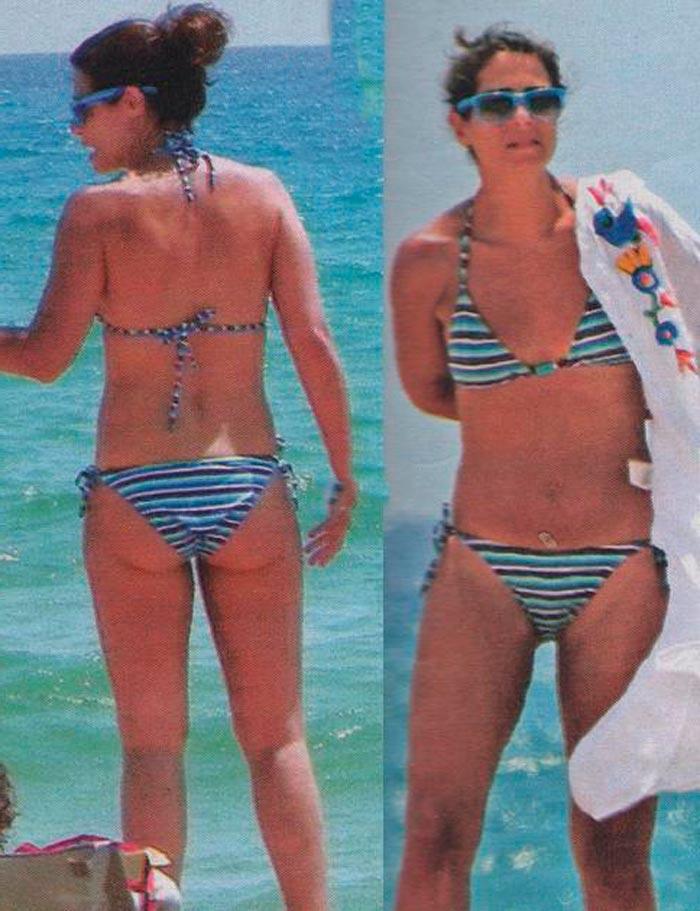 Nuria Roca Presentadora Valenciana Televisión Fotos Bikini 7